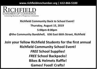 Community Back to School Event