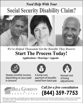 Social Security Disability Claim?