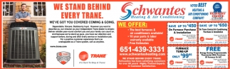 We Stand BEhind Every Trane