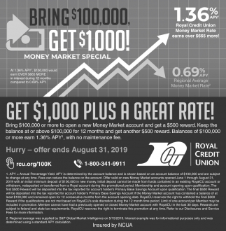 Get $1,000 Plus a Great Rate!