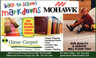 Back to School Markdowns