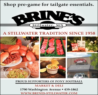 A Stillwater Tradition Since 1958