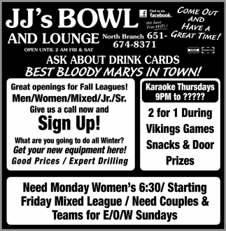 Ask About Drink Cards