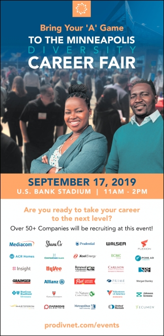 Minneapolis Diversity Job Fair