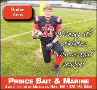Wishing All Athletes a Successful Season!