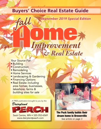 Fall Home Improvement & Real Estate
