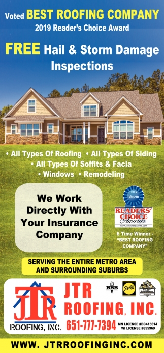 Voted Best Roofing Company