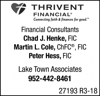 Financial Consultants