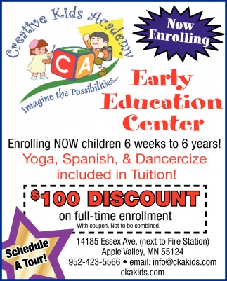 Now Enrolling