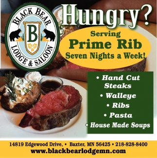 Serving Prime Rib Seven Nights a Week!