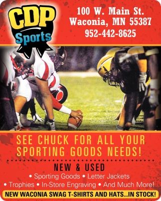 See Chuck for All Your Sporting Goods Needs!