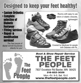Designed to Keep Your Feet Healthy!