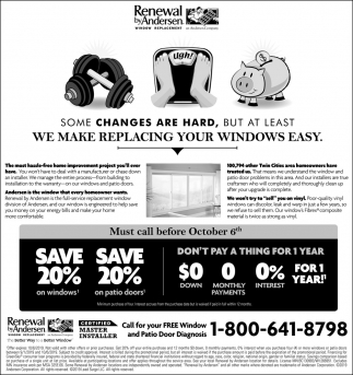 Some Changes are Hard, But at Least We Make Replacing Your Windows Easy