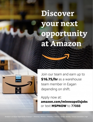 Discover Your Next Opportunity at Amazon
