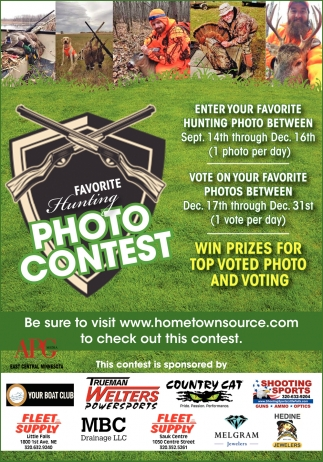 Favorite Hunting Photo Contest