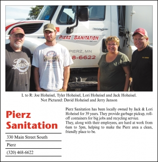 Pierz Sanitation