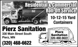 Residential & Commercial Roll-Off Service