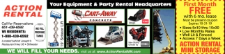 Your Equipment & Party Rental Headquarters