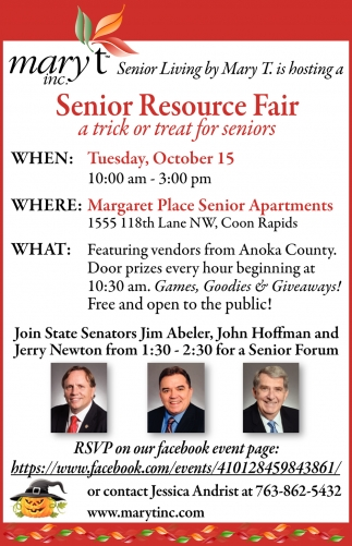 Senior Resource Fair