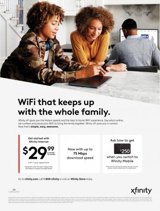WiFi that Keeps Up with the Whole Family