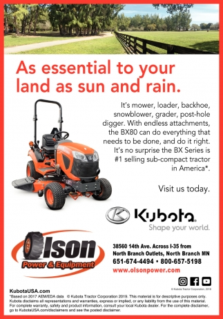 As Essential to Your Land as Sun & Rain