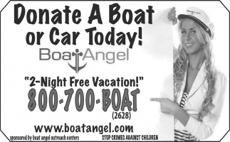 Donate a Boat or Car Today!
