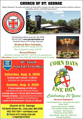 50th Annual Long Lake Corn Days