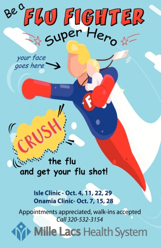 Be a Flu Fighter Super Hero