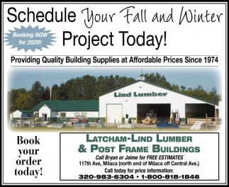 Schedule Your Fall & Winter Project Today!