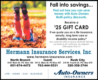 Fall Into Savings...