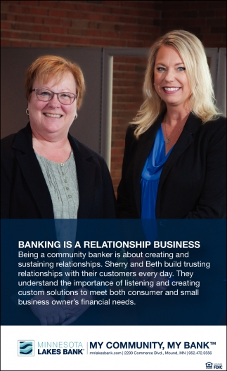 Banking is a Relationship Business