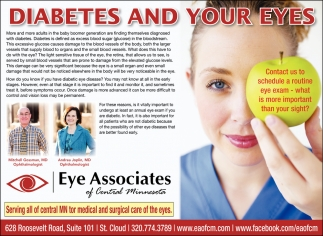 Diabetes & Your Eyes