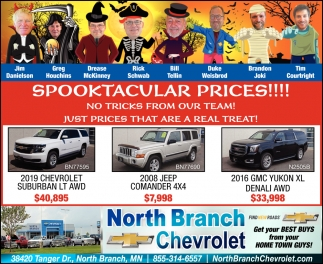 Spooktacular Prices!