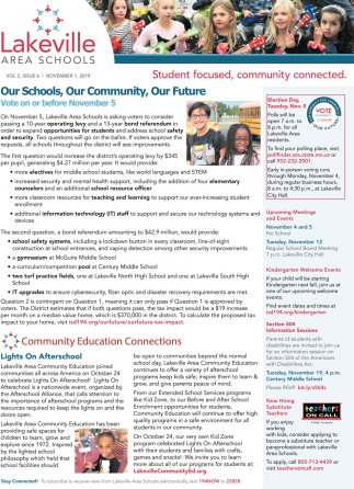 Our Schools, Our Community, Our Future