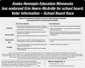 Voter Information - School Board Race