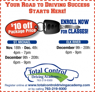 Your Road to Driving Success Starts Here!