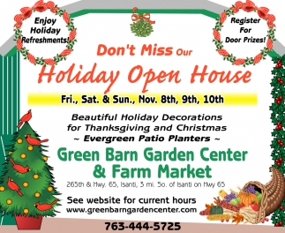 Don't Miss Our Holiday Open House