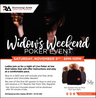 Widow's Weekend Poker Event