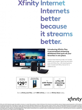 Introducing Xfinity Flex