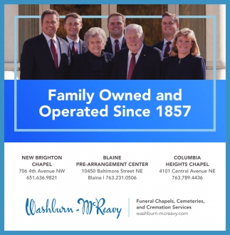 Family Owned & Operated Since 1857
