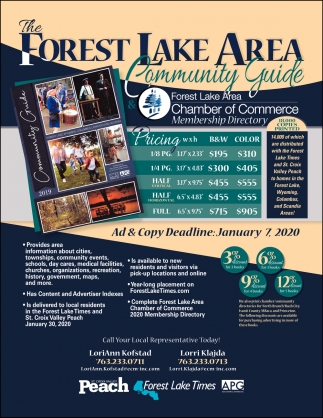 The Forest Lake Area Community Guide