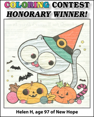 Coloring Contest Honorary Winner!
