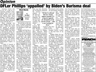 DFLer Phillips 'Appalled' by Biden's Burisma Deal