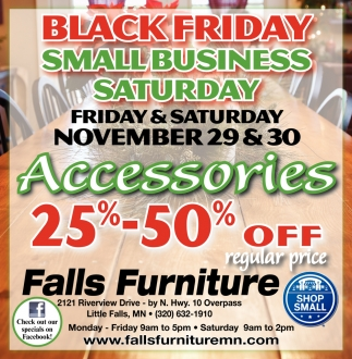 Black Friday Small Business Saturday