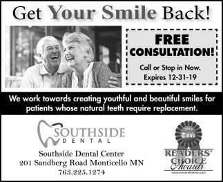 Get Your Smile Back!