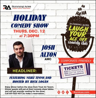 Holiday Comedy Show