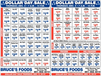 Dollar Day Sale