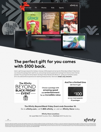 The Perfect Gift for You Comes with $100 Back