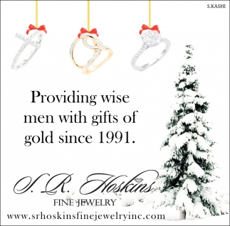 Providing Wise Men with Gifts of Gold Since 1991