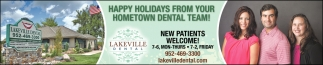Happy Holidays from Your Hometown Dental Team!
